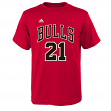 Jimmy Butler Chicago Bulls Youth Adidas NBA Player Red T-Shirt