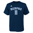 Mike Conley Memphis Grizzlies Youth Adidas NBA Player Blue T-Shirt