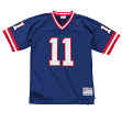 Phil Simms New York Giants Men's NFL Mitchell & Ness Premier Blue Jersey