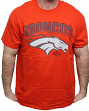 "Denver Broncos Majestic NFL 2015 ""Reflective"" Short Sleeve Men's Orange T-Shirt"