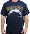"San Diego Chargers Majestic NFL 2015 ""Reflective"" S/S Men's Navy T-Shirt"