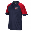 Columbus Blue Jackets Reebok 2015 Center Ice Team Performance Polo Shirt