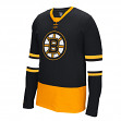 "Boston Bruins Reebok NHL ""Face Off"" Long Sleeve Jersey Shirt"