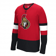 "Ottawa Senators Reebok NHL ""Face Off"" Long Sleeve Jersey Shirt"