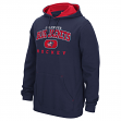 Columbus Blue Jackets Reebok NHL Men's Playbook Hooded Sweatshirt