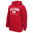 Detroit Red Wings Reebok NHL Men's Playbook Hooded Sweatshirt
