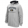 Boston Bruins Reebok NHL Men's Playbook Hooded Sweatshirt - Gray