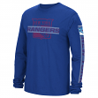 "New York Rangers Reebok NHL Men's ""Lineup"" Long Sleeve T-Shirt"