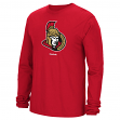 Ottawa Senators Reebok NHL Jersey Crest Long Sleeve Men's T-Shirt