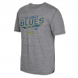 "St. Louis Blues CCM ""No Mercy"" NHL Distressed Tri-Blend Men's T-Shirt"