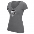 "Pittsburgh Penguins Women's NHL Reebok ""Ice Shatter"" Scoop Neck Shirt"