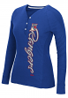 "New York Rangers Women's NHL CCM ""Verticality"" Long Sleeve Henley Shirt"