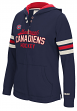 "Montreal Canadiens Women's NHL CCM ""Classic"" Full Zip Hooded Sweatshirt"