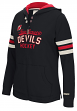 "New Jersey Devils Women's NHL CCM ""Classic"" Full Zip Hooded Sweatshirt"