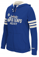 "Toronto Maple Leafs Women's NHL CCM ""Classic"" Full Zip Hooded Sweatshirt"