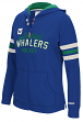 "Hartford Whalers Women's NHL CCM ""Classic"" Full Zip Hooded Sweatshirt"