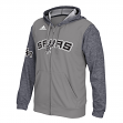 "San Antonio Spurs Adidas 2015 NBA Men's On-Court ""Pre-Game"" F/Z Hooded Jacket"