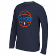 "Oklahoma City Thunder Adidas ""Ball In"" On-Court Climalite Performance L/S Shirt"