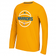 "Golden State Warriors Adidas ""Ball In"" On-Court Climalite Performance L/S Shirt"