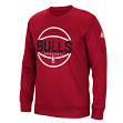 Chicago Bulls Adidas NBA Men's Climawarm Team Issue Crew Sweatshirt