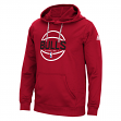 Chicago Bulls Adidas NBA Men's Climawarm Team Issue Hooded Sweatshirt