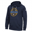 Memphis Grizzlies Adidas NBA Men's Climawarm Team Issue Hooded Sweatshirt