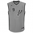 Tony Parker San Antonio Spurs Adidas NBA Replica Jersey - Gray