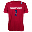 John Wall Washington Wizards Men's NBA Adidas Player Red T-Shirt