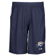 "Oklahoma City Thunder Adidas 2015 NBA ""Tip-Off"" Men's Climalite Mesh Shorts"