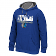 Dallas Mavericks Adidas 2015 NBA Playbook Men's Hooded Sweatshirt