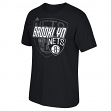 "Brooklyn Nets Adidas NBA ""Distressed Back Logo"" Men's Short Sleeve T-Shirt"