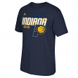 "Indiana Pacers Adidas NBA ""Distressed Back Logo"" Men's Short Sleeve T-Shirt"