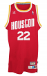 Clyde Drexler Houston Rockets Adidas NBA Throwback Swingman Jersey - Red