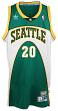 Gary Payton Seattle Supersonics Adidas NBA Throwback Swingman Jersey - Green