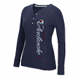 "Colorado Avalanche Women's NHL CCM ""Verticality"" Long Sleeve Henley Shirt"