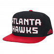 Atlanta Hawks Adidas NBA 2015 Authentic On-Court Snap Back Hat