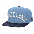 Memphis Grizzlies Adidas NBA 2015 Authentic On-Court Snap Back Hat