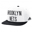 Brooklyn Nets Adidas NBA 2015 Authentic On-Court Snap Back Hat