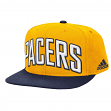 Indiana Pacers Adidas NBA 2015 Authentic On-Court Snap Back Hat