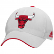 Chicago Bulls Adidas NBA 2015 Authentic Team Structured Adjustable Hat