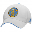 Denver Nuggets Adidas NBA 2015 Authentic Team Structured Adjustable Hat