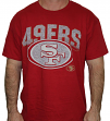 San Francisco 49ers Majestic NFL 2015 Reflective Short Sleeve Men's Red T-Shirt