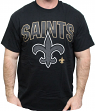 New Orleans Saints Majestic NFL 2015 Reflective Short Sleeve Men's Black T-Shirt