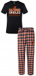 "Baltimore Orioles MLB ""Medalist"" Men's T-shirt & Flannel Pajama Pants Sleep Set"