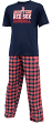 "Boston Red Sox MLB ""Medalist"" Men's T-shirt & Flannel Pajama Pants Sleep Set"
