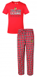 "Chicago Blackhawks NHL ""Medalist"" Men's T-shirt & Flannel Pajama Pants Sleep Set"