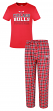 "Chicago Bulls NBA ""Medalist"" Men's T-shirt & Flannel Pajama Pants Sleep Set"