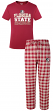 "Florida State Seminoles NCAA ""Medalist"" Men's T-shirt & Flannel Pajama Sleep Set"