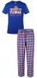 "Florida Gators NCAA ""Medalist"" Men's T-shirt & Flannel Pajama Sleep Set"