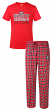 "Georgia Bulldogs NCAA ""Medalist"" Men's T-shirt & Flannel Pajama Sleep Set"